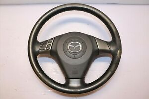 Jdm 07 09 Mazdaspeed 3 Axela Oem Srs Steering Wheel Ms3 Mzr L3 Turbo