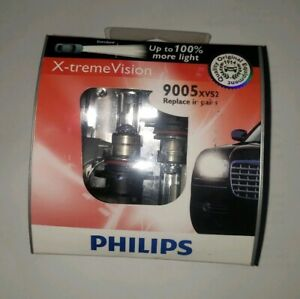New Philips 9005 Extreme Vision 2 Pack 9005xvs2 Bulb