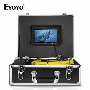 Eyoyo Pipe Pipeline Inspection Camera 30m 7 Drain Sewer Industrial Endoscope Us
