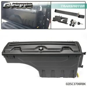 Abs Truck Bed Storage Box Rear For 2002 2018 Dodge Ram 1500 2500 3500 Right