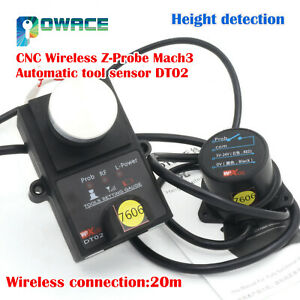 Dt02 Height Detection Universal Cnc Wireless Z probe Mach3 Automatic Tool Sensor