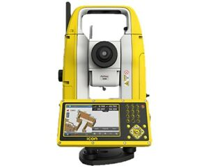 Leica Icon Builder 70 Bluetooth Manual Reflectorless Total Station With Tripod