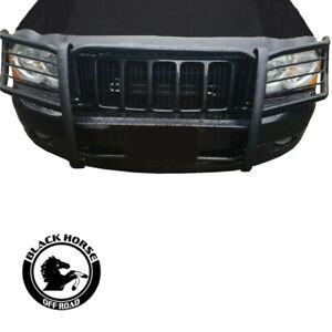 Black Horse Grille Guard Modular Black Fit 2005 2010 Jeep Grand Cherokee
