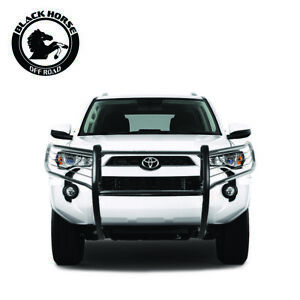 Black Horse Fits 10 21 Toyota 4runner Stainless Grille Brush Bumper Guard