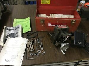 Snap On Ya180 Kwik Way On The Car Disc Rotor Brake Lathe Auto Feed 108 Kwik lath
