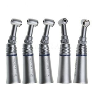 5pcs Nsk Style Dental Low Speed Press Button Contra Angle Handpiece Pad Us Sales