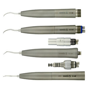 Sonic Dental Hygienist Air Scaler Handpiece Kavo Nsk Coupling 2 4 Holes With Tip