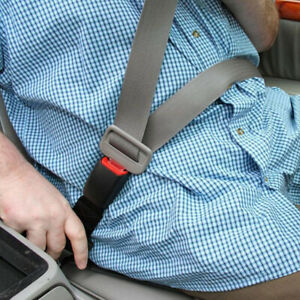 Rigid Car Seat Belt Extension Extender Wide Buckle Clip Hard Fixed Expander