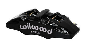 Wilwood Dynapro 6a Piston Forged Caliper Lug Mount Stainless 120 13439 bk