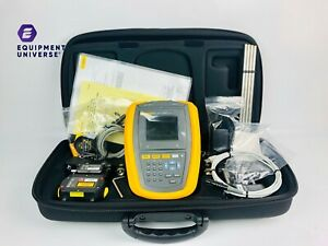 flawless Fluke 830 Laser Shaft Alignment Tool With Fluke Accessories Free Sh