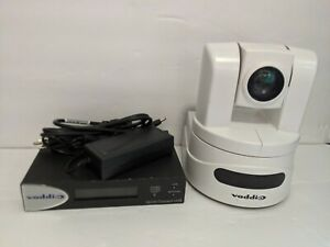 Vaddio Clearview Hd 19 Ptz Camera White With Quick Connect Usb Hdmi