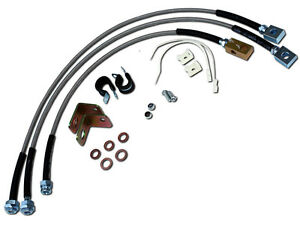Stainless Steel Extended Brake Line Kit Free Shipping Fits Jeep Cj 1982 1986