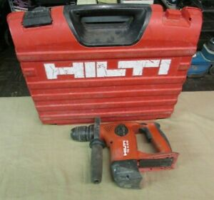 Hilti Te 4 a18 Hammer Drill Tool Only W case