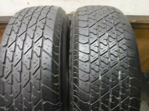 2 Vintage 225 70 15 100s Bfgoodrich Radial T A Tires 8 32 1d40 187