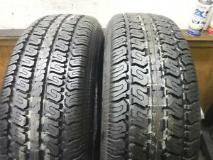 2 Vintage 225 70 15 100s Goodyear Eagle St Tires Full Tread 1d50