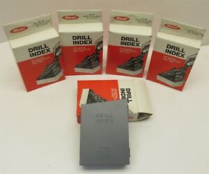 Lot Of 5 New Huot Drill Index 1 60 Number Size Drills No 60 Usa Mde d7996