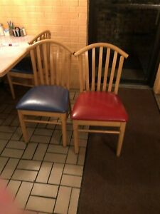 Used Restaurant Chairs But I Great Condition Only Used Half Of Them For 1 Year