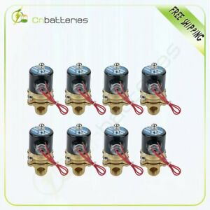 1 2 Npt Air Ride Suspension Valve Electric Solenoid Brass For Train Horn Fast 8