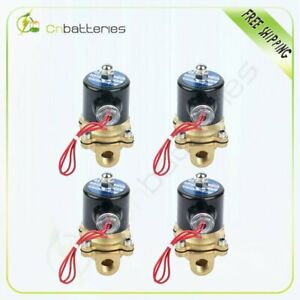 3 8 Npt Air Ride Suspension Valve Brass Electric Solenoid For Train Horn Fast 4