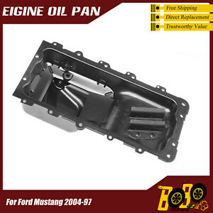 Engine Oil Pan For Ford Mustang 2004 97 F7zz6675aa Xr3z6675da 264 453 Fp46a