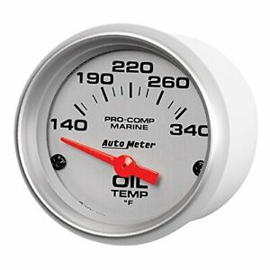 Autometer Auto Meter 200764 33 Ultra Lite Gauge Oil Temp 2 1 16 140 300 F