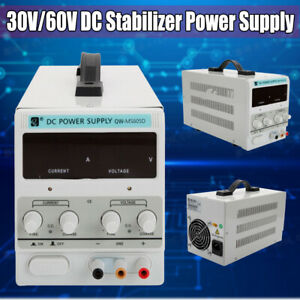 60v 30v Dc Power Supply Voltage Digital Stabilizer Variable Adjustable Regulator