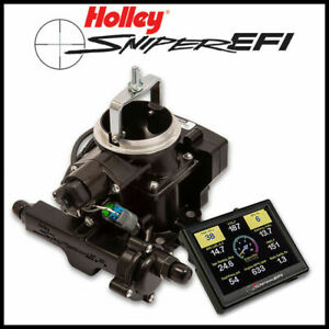 Holley Sniper Efi Self Tuning Fuel Injection Conversion Gm Rochester 2gc Kit