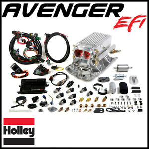 Holley Avenger Efi Stealth Ram Mpfi Fuel Injection System Sbc Vortec Heads