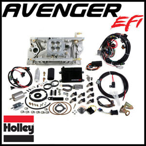 Holley Avenger Efi 4bbl Multi port Fuel Injection System Single Plane Sbc