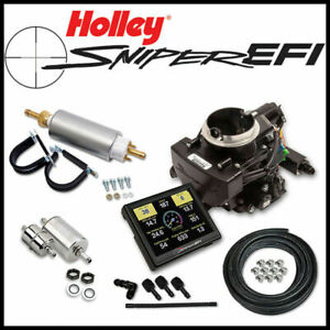 Holley Sniper Efi Self Tune Fuel Injection Conversion Kit Rochester 2gc 2 Barrel