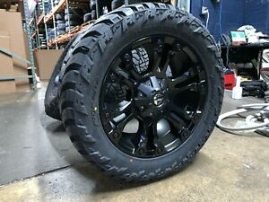 20 Fuel D560 Vapor Black Wheels 32 Amp Mt Tires 5x150 For Toyota Tundra
