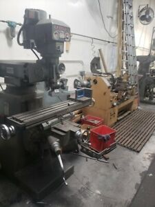 Ex cell o Bridgeport style Knee mill