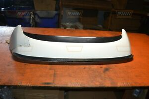 10 13 Mazdaspeed3 Ms3 Oem Factory White High Rise Spoiler W Password Jdm Lip