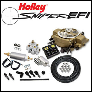 Holley Sniper Efi Quadrajet 4 Barrel Self Tuning Fuel Injection Conversion Kit
