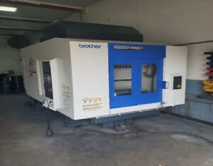 Used Brother Speedio R6650 x1 Cnc Vertical Drill Tap Center Mill Machining 2016