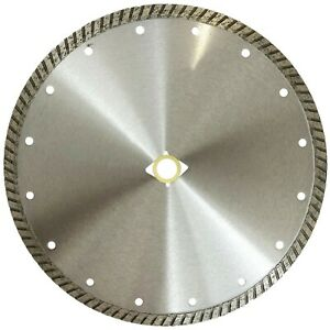 10in Premium Turbo Wet Dry Continuous Diamond Saw Blade For Concrete Pavers