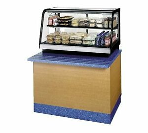 Federal Industries Crr4828ss 48 Countertop Refrigerated Deli Display Case
