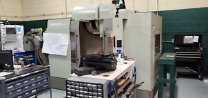 Used Monarch Vmc 40 Cnc Vertical Machining Center Mill Fanuc 4020 Renishaw 2005