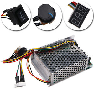10 55v 60a 5000w Reversible Dc Motor Speed Controller Pwm Control Hot Sale Us