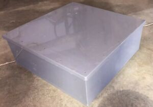 Cantex 5133136 Plastic Electrical Junction Box 24x24x8