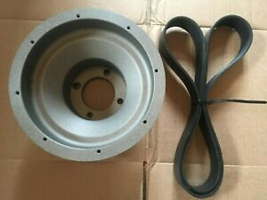 86 93 Mustang Vortech Supercharger 10 Rib Serpentine Crank Pulley 5 0 302 Ford