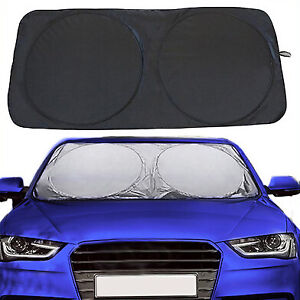 Car Windshield Sun Shade Front Window Shield Reflective Foldable Material New