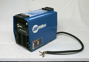 2005 Miller Electric 907161 Xmt 350 Inverter Welder Cc cv Multiprocess Welding