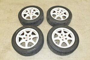 Jdm 96 00 Honda Civic Oem Ek9 Rims 15 Ctr Wheels Tires 5x114 3 5 Lugs B16b
