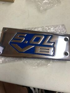 Custom Oem V8 Ford Mustang 5 0l Gt40 Upper Plenum Intake Cover Plate Foxbody