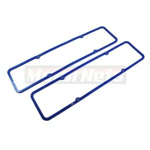 Sbc 283 305 327 350 Blue Valve Cover Rubber Steel Core Gasket Small Block Chevy