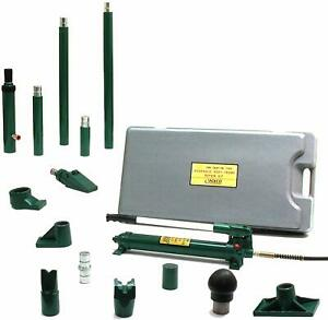 Jackco 10 Ton Porto Power Type Hydraulic Body Frame Repair Kit Free Shipping