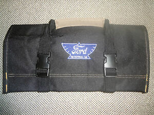 Ford Ford Model T Model A Logo Canvas Tool Roll