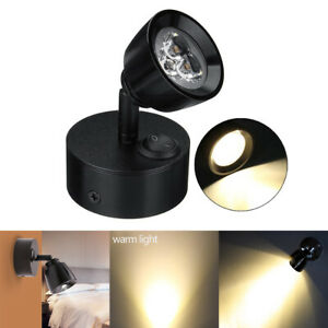 3w Led Reading Light Rv Camper Projection Spotlight Trailer Wall Mount Lamp Room