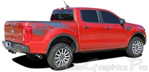 2019 2020 Ford Ranger Stripes Bed Decals Guardian Side Body Vinyl Graphic Kits